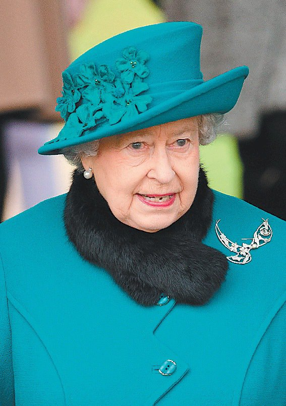 英國女王伊麗莎白二世。圖/法新社