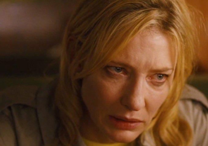 凱特布蘭琪在《藍色茉莉》飾演婚姻觸礁的紐約名媛。圖/索尼提供
