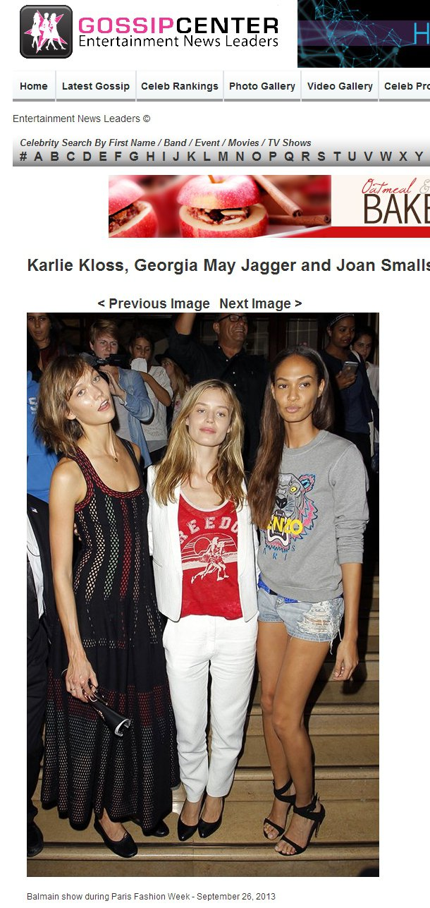 超模Karlie Kloss、英國模特兒Georgia May Jagger和J...