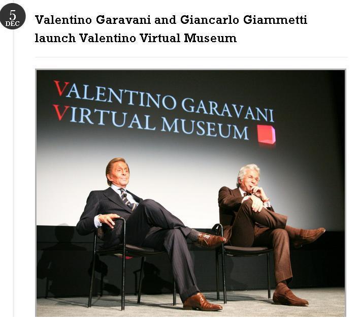 這對設計師情侶檔Valentino和Giancarlo Giammetti 也是...