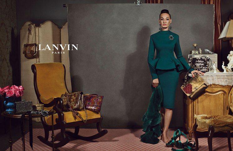 LANVIN廣告曾邀82歲素人老奶奶入鏡,詮釋LANVIN之美足以跨越年齡。圖/...