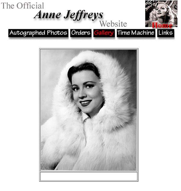 安杰弗里斯在四○年代投入好萊塢電影圈,模特兒出身的他舉手投足間都散發著特殊迷人氣...