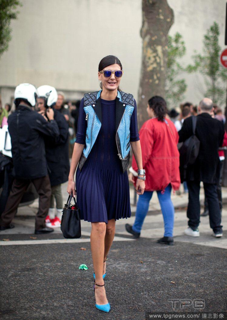 Giovanna Battaglia在日前落幕的2014春夏時裝周主要以清爽的極...