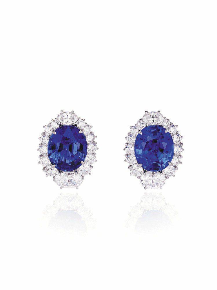 蕭邦為電影打造的頂級訂製珠寶項鍊,18K白金及鈦金屬鑲嵌重69克拉枕形鑽石、22...