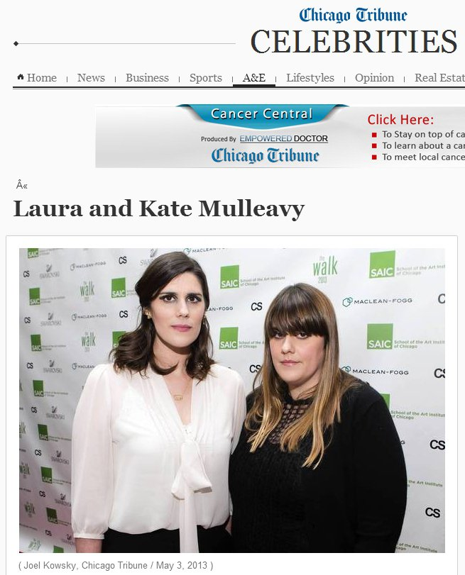 時裝品牌Rodarte的設計師Laura Mulleavy 與 Kate Mul...
