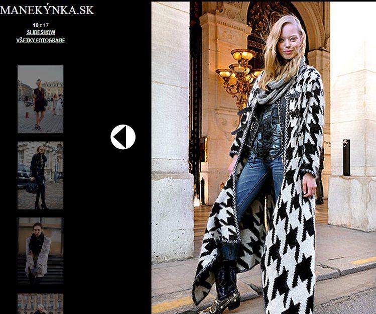 私底下的Tanya Dziahileva偏愛率性俐落的打扮。圖/擷取自manek...
