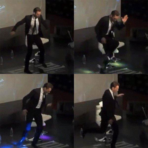 湯姆希德斯頓會跳舞又會唱歌。圖;文/美麗佳人