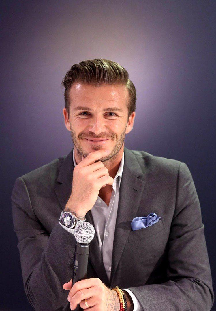 第12名大衛貝克漢(David Beckham)。圖/路透