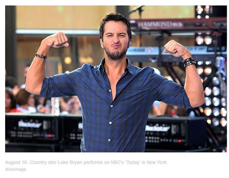 第3名路克布萊恩(Luke Bryan)。圖/擷取自billboard.com