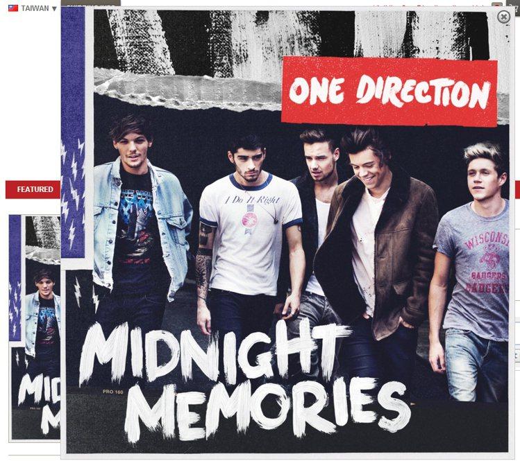英國當紅男團 1 世代(One Direction)圖/擷取自myplaydir...