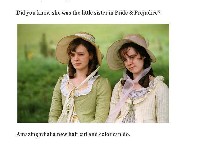 吉娜馬隆(右)曾演出《傲慢與偏見》。圖/擷取自IMDB網站