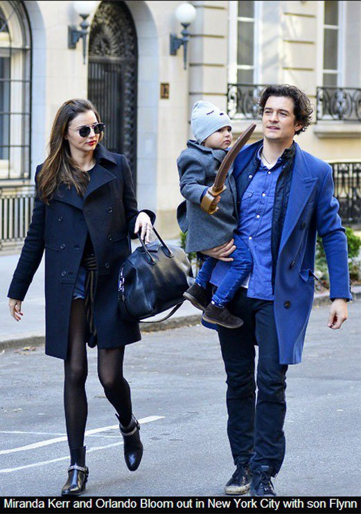 米蘭達與奧蘭多離婚後還是保持良好互動,兩人也時常被狗仔拍到帶著兒子 Flynn ...