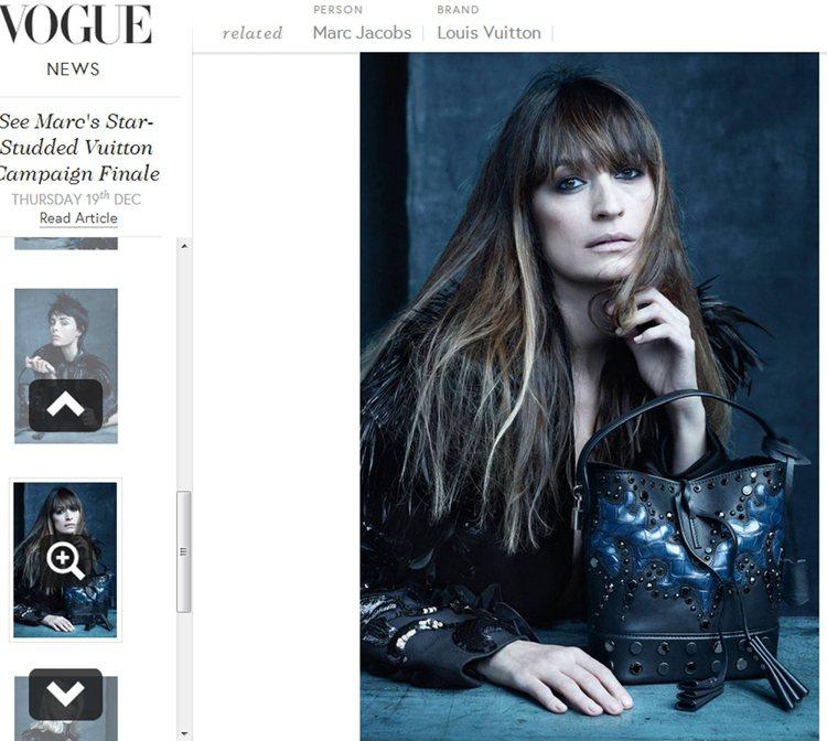 法國知名模特兒 Caroline de Maigret 加入拍攝行列。圖/擷取...