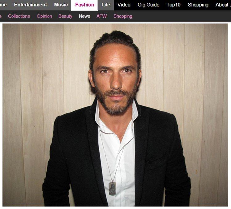 Sébastien Jondeau 曾為拉格斐同名男裝品牌 Lagerfeld ...