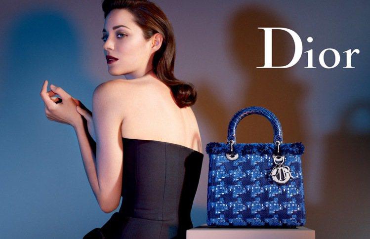 瑪莉詠柯蒂亞為Lady Dior代言。圖/Dior提供