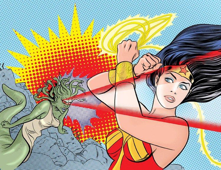 神力女超人身材豐滿健美。圖/M.A.C提供