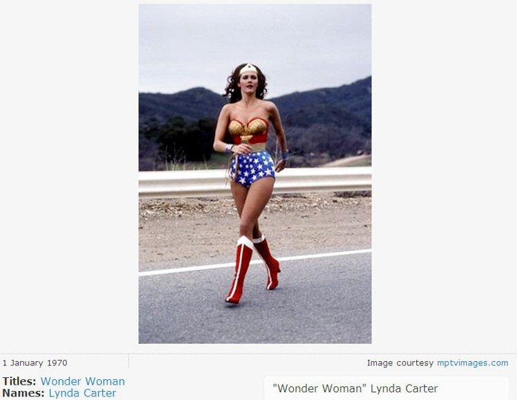 Lynda Carter曾在1975年的電視劇中飾演神力女超人。圖/擷取自IMD...