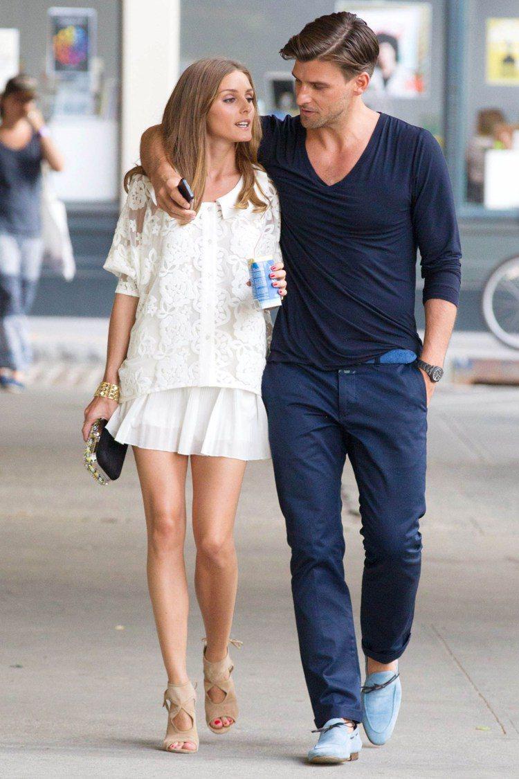 外型出眾的兩人就連在街頭隨意漫步看起來都像雜誌照片。圖/GQ提供