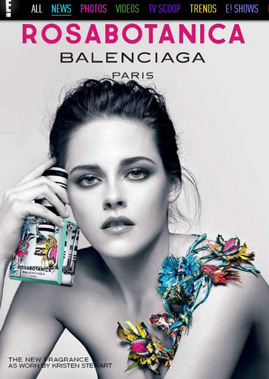 克莉絲汀史都華(Kristen Stewart)在Balenciaga Rosa...