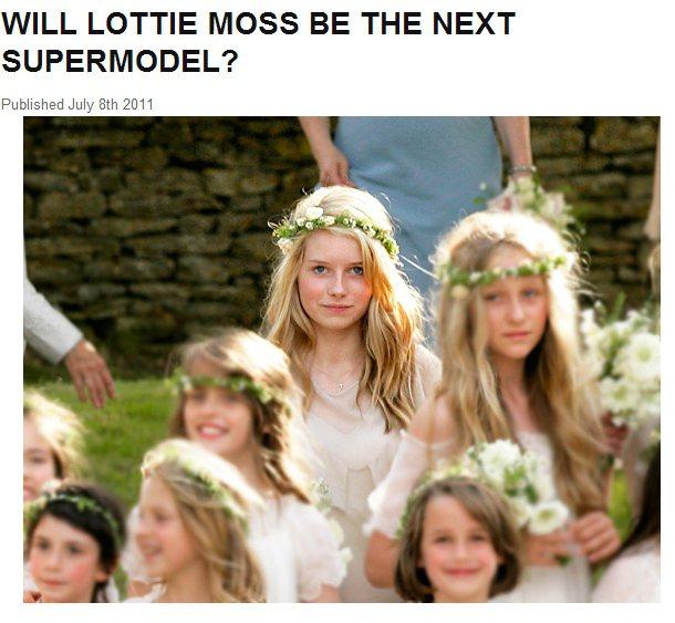 早在 2011 年凱特摩絲與傑米辛斯(Jamie Hince)的婚禮上,同父異母...
