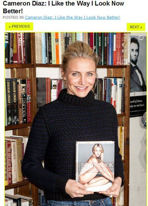 卡麥蓉狄亞最近忙著為新書《The Body Book》宣傳,而且頻頻以極淡妝出席...
