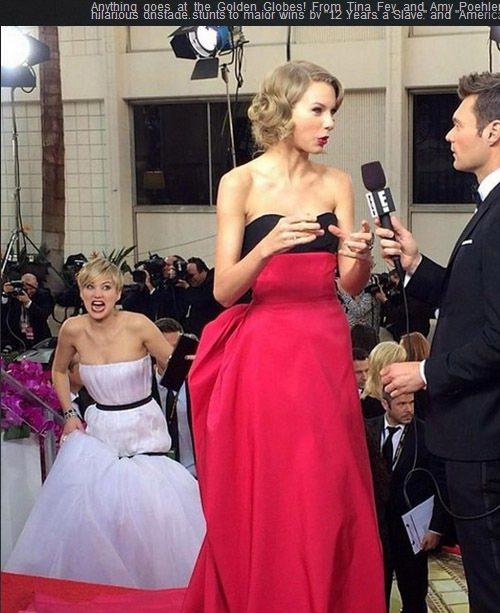 珍妮佛勞倫斯日前在金球獎上除了用 Dior 禮服掀起一波網友模仿熱潮之外,在會場...