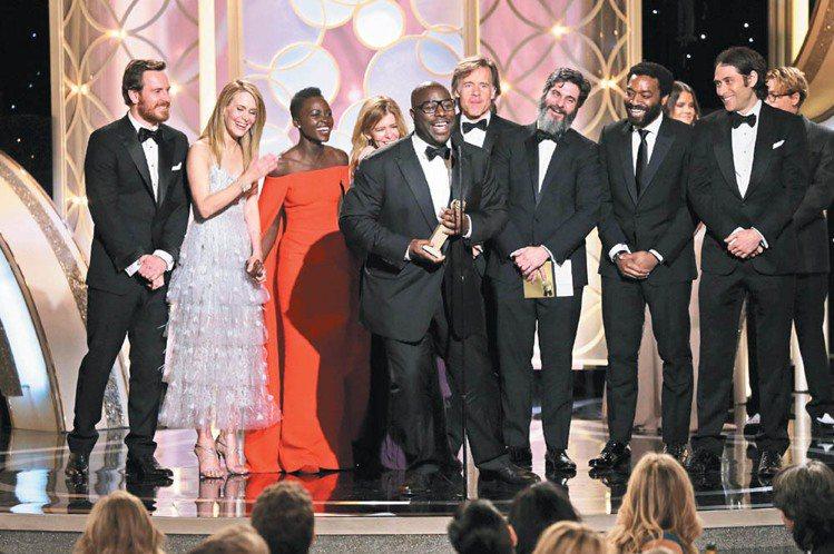 《自由之心》今年入圍奧斯卡多項獎與金球獎七個獎項、勇奪戲劇類最佳電影。圖/路透
