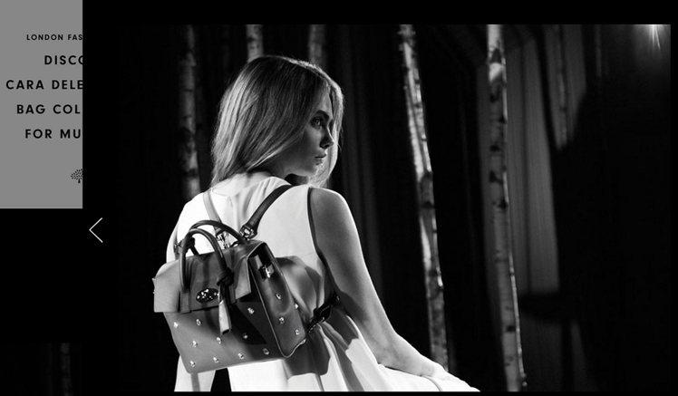 Mulberry 推出卡拉迪樂芬妮設計的全新包款,不論是綠色、迷彩或鉚釘款式都充...