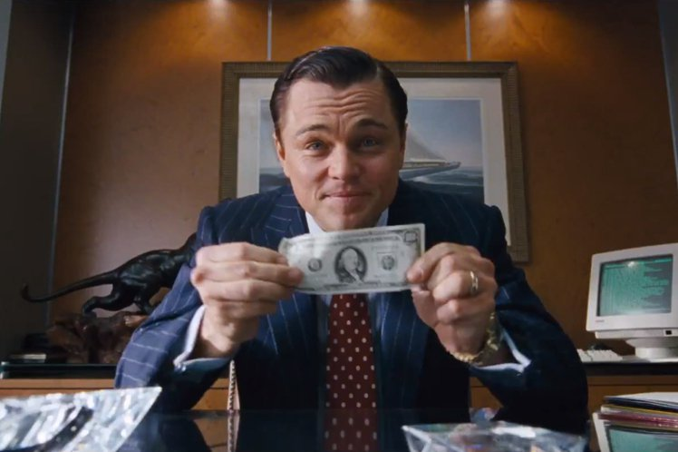 網友一致表示髒話超多、尺度破錶的《華爾街之狼》不適合帶女友去看?圖/GQ提供