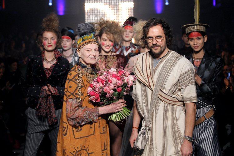 Vivienne Westwood剪去招牌紅髮,以大膽新造型呼籲大眾重視環保議題...