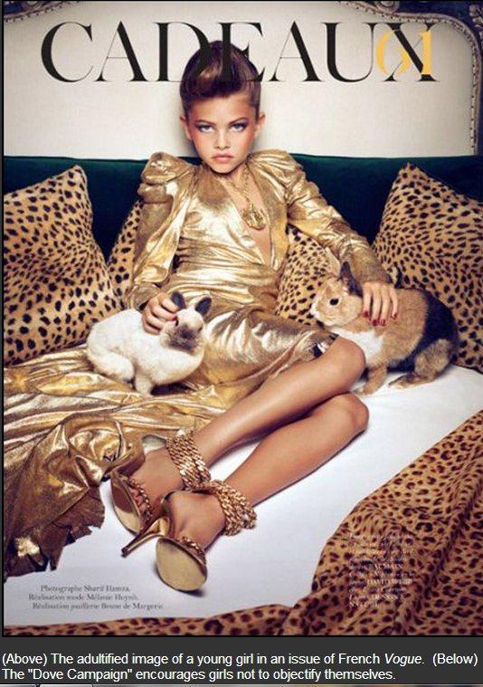 法國兒童模特兒布蘭朵(Thylane Blondeau),當年因為年僅 10 歲...