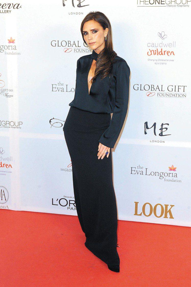 維多莉亞貝克漢經營個人時尚品牌,成績有目共睹。圖/達志影像