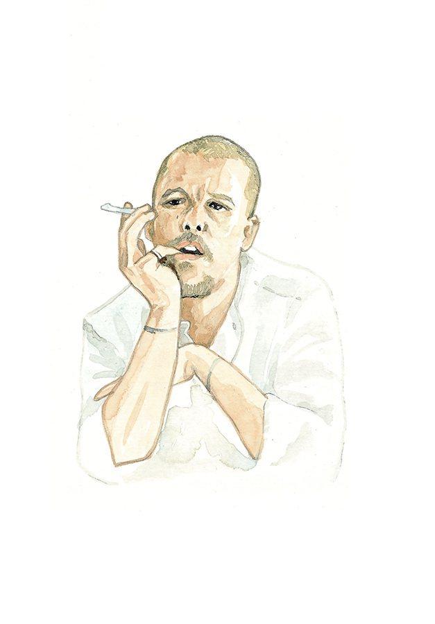 Alexander McQueen 的設計很驚人,絕對的搶眼幾乎是他的風格,而他...