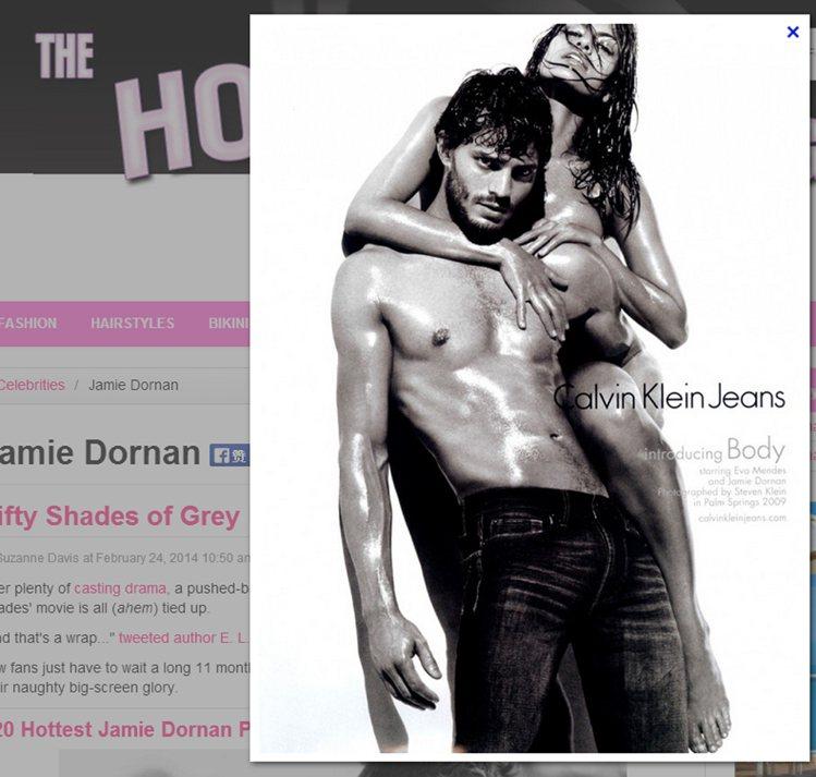 《格雷的五十道陰影》電影男主角的傑米多南(Jamie Dornan)在 2009...