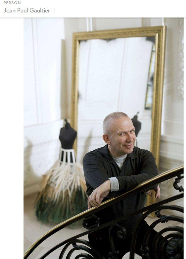 設計師 Jean Paul Gaultier愛不完美,並認為完美的女人根本不存在...