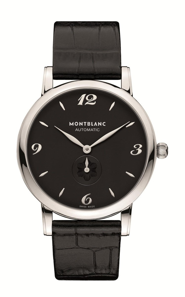 Star Classique系列精鋼款腕表,售價98,900元。圖/萬寶龍提供
