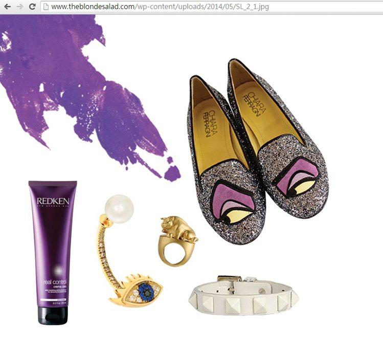 Chiara Ferragni 同名品牌設計鞋款相當可愛。圖/擷取自theblo...