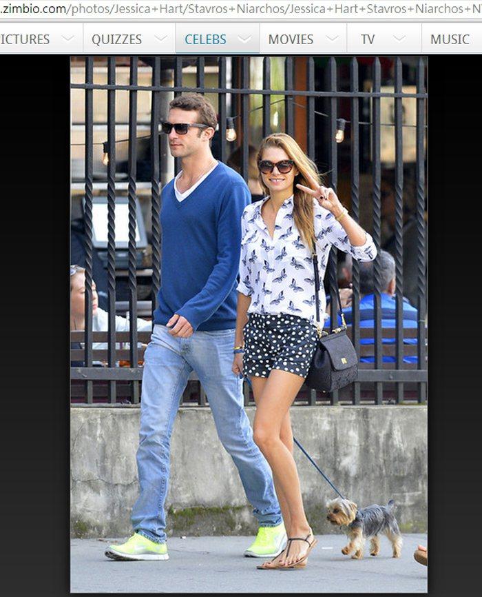 Jessica Hart 與希臘船商小開男友 Stavros Niarchos ...