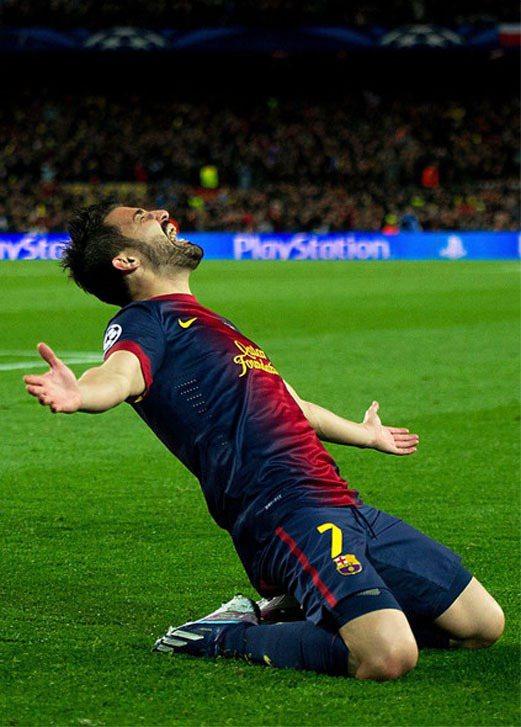 滑地是許多球員熱愛的進球慶祝動作,但當今足壇指標性的「滑地王」首推西班牙的鬍子哥...