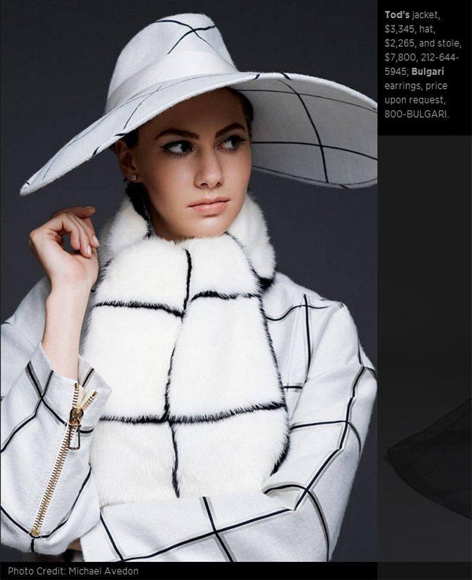 傳奇女星奧黛莉赫本的20歲孫女艾瑪費雷爾近日登上哈潑時尚雜誌九月訂戶版封面。圖/...