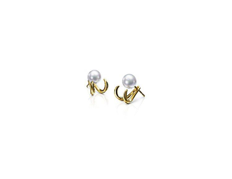 TASAKI danger fang 耳環,47,500元。圖/TASAKI提供