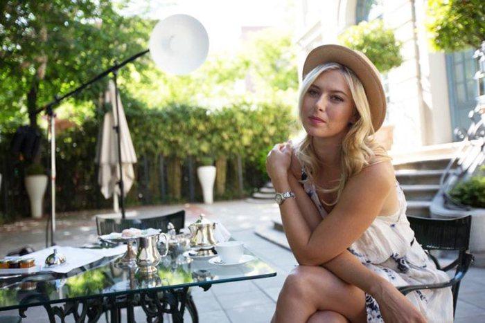不管網球或者商業女強人的身分,莎拉波娃的小秘密就是:Work Hard。圖;文/...