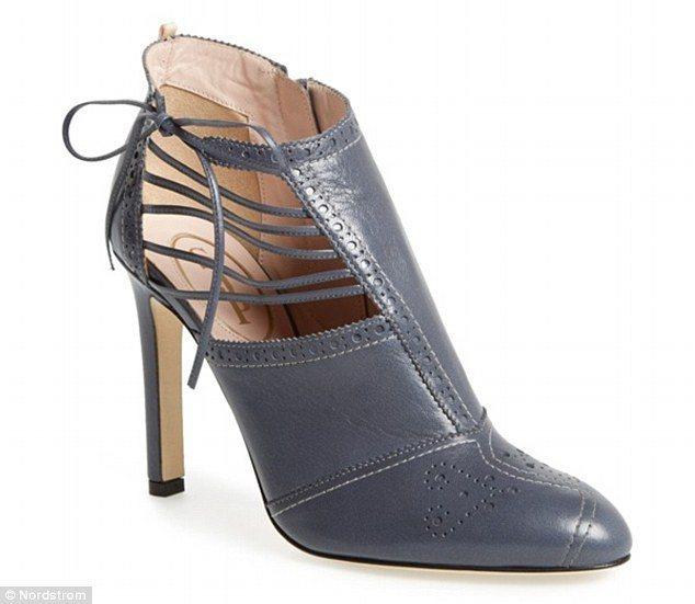 莎拉潔西卡派克推出第二波「SJP」女鞋設計系列。圖/每日郵報