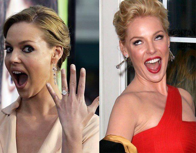 銀幕形象=傻大姐的凱薩琳海格,也是鬼臉專業戶,一方面是因為她很愛張嘴大笑,所以比...