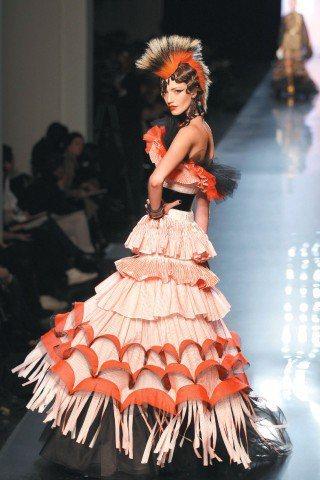 Jean Paul Gaultier表示,未來將專注設計高級訂製服。圖/路透