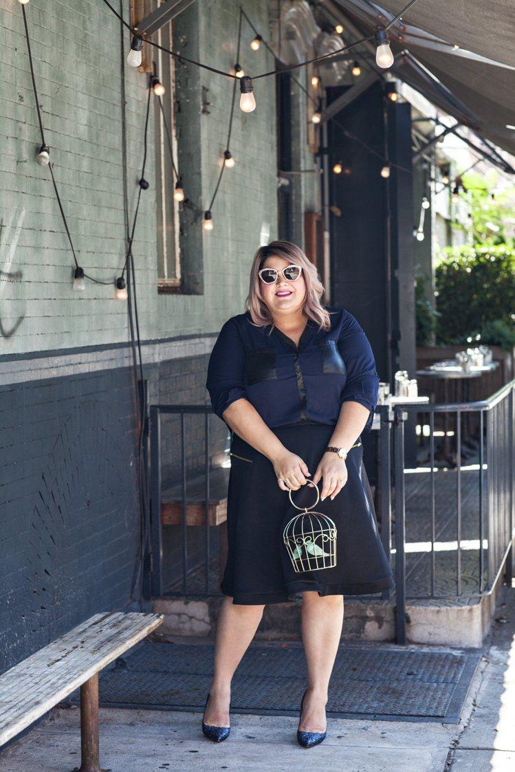 紐約知名時尚編輯、部落客Nicolette Mason近日與美國流行服飾購物網 ...