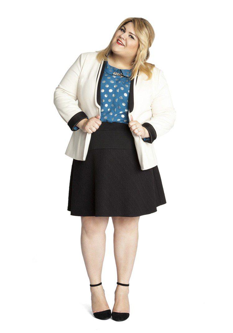 Nicolette Mason與ModCloth合作的服裝系列。圖/擷自modc...