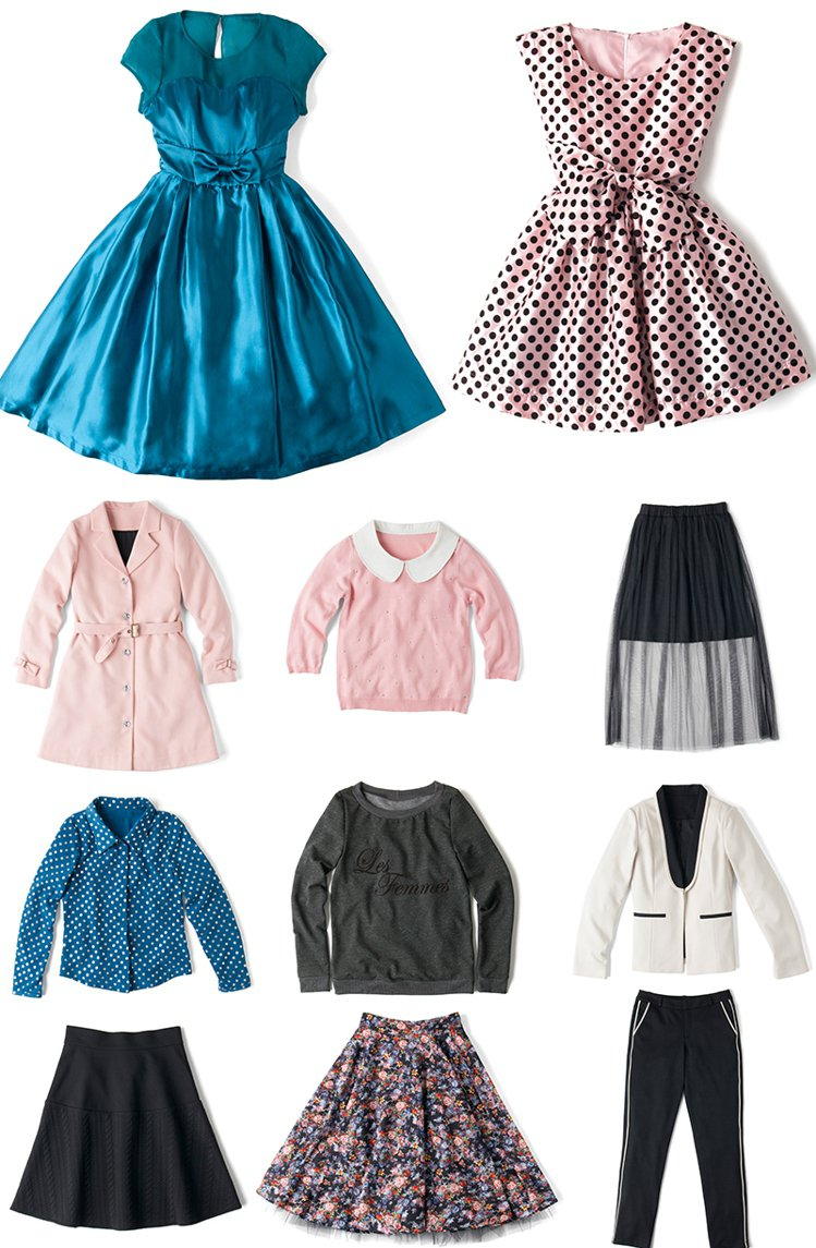 Nicolette Mason與ModCloth合作的服裝系列。圖/擷自nico...