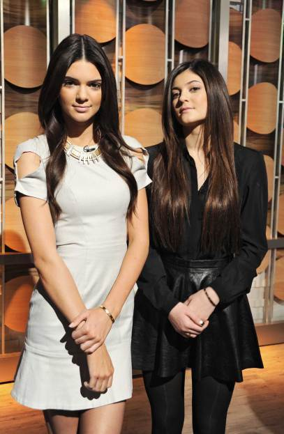 坎達爾珍娜(Kendall Jenner)與妹妹 Kylie Jenner入選《...