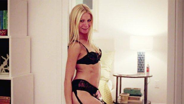 《謝謝分享,我的愛》中葛妮絲派特蘿吊帶襪造型。圖/擷自http://entert...